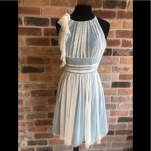 Alvina Valenta Maids Turquoise Dress  size 6